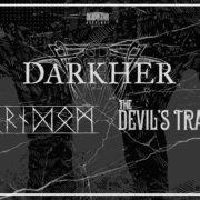 DARHKER, Forndom, The Devil's Trade (Stengade, København)